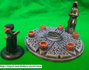 Evil Shrine with Evil Statue 28mm Handsculpted/Resin