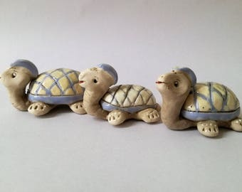 Ceramic turtle, Ceramic animal, Turtle handmade, Pottery turtle, Ceramics and Pottery, Art deco, Ceramics Sculpture, Animal sculpture, Gift
