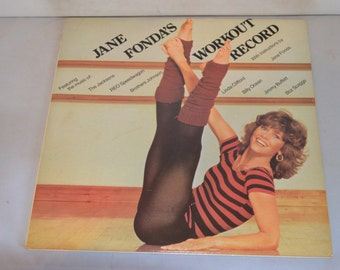 Vintage Gatefold Double Record Jane Fonda Workout Album CX2-38054