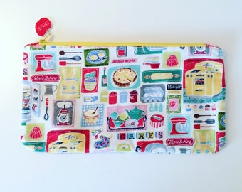 Knitting Needle case / Clutch bag