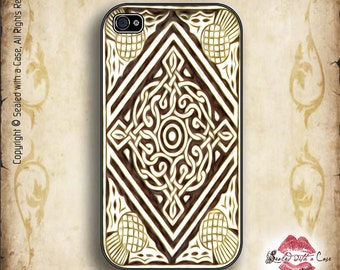 Celtic Knot pattern - iPhone 4/4S 5/5S/5C/6/6+ and now iPhone 7 cases!! And Samsung Galaxy S3/S4/S5/S6/S7