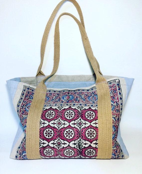 Market bag, XL tote bag , linen bags , natural linen bags , handmade bags , laptop bag, picnic bag, boho bag, gift for mom