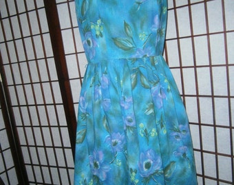 Women's Dress - Vintage 60's