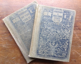 Set of Two Shakespeare Classics Copyright 1911