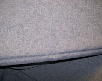 "Light Weight Striated Heathered Gray Suiting 65"" Wide Sold by the Yard"