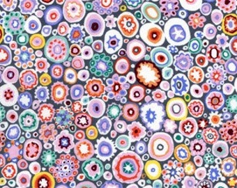 Paperweight in Pastel cotton fabric by Kaffe Fassett for Rowan ref: GQP2000-PASTL