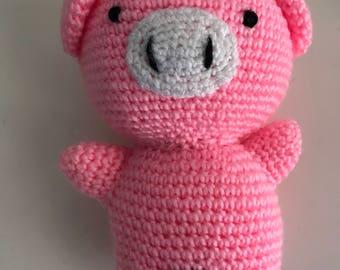 Amigurumi Kappy the pig