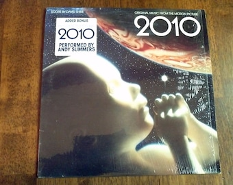 Vintage 2010 Vinyl Record Album Science Fiction Sci Fi Clarke Shrink