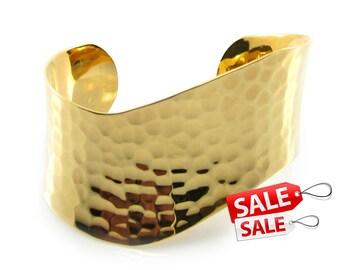 Gold Cuff Bracelet Gold Bracelet Cuff Hammered Brass Cuff Bracelet Brass Bracelet Cuff Wide Cuff Bracelet Gold Hammered Bracelet Cuff 024