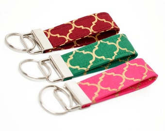 Key Chain / Key Fob / Wristlet - Choose Your Fabric and lenght