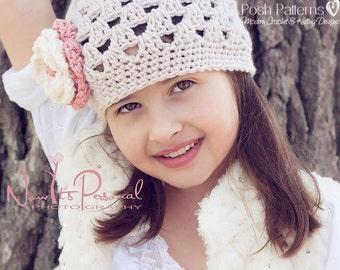 Crochet PATTERNS - Crochet Pattern Hat - Baby Crochet Pattern - Crochet Patterns - Includes Baby, Toddler, Kids, Adult Sizes - PDF 123