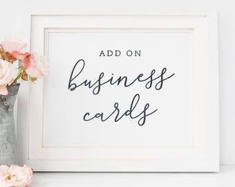 Matching Business Card Design | Custom Business Cards