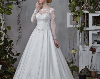 Wedding dress wedding dress bridal gown VIRGINIA