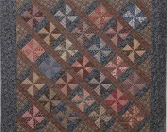 SALE!! Civil War Legacies Quilt Pattern - Miss Mary's Pinwheels - Carol Hopkins