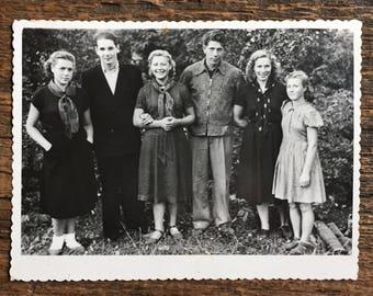 Original Vintage Photograph   Ties That Bind   1956
