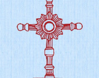 Holy Cross (4) Embroidery pattern (downloadable)