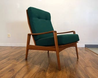 Komfort Danish Teak Lounge Chair
