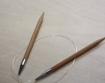 Chiao Goo circular Bamboo needles, size 10, Various lengths available