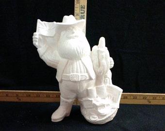 Ceramic Arizona state Santa Claus