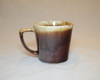 Vintage 1960s MCCOY Brown Drip Lava Glaze Coffee Mug, Tea Mug, Coffee Cup, Tea Cup - Replace Your Broken Mug For Your McCoy Coffee Set