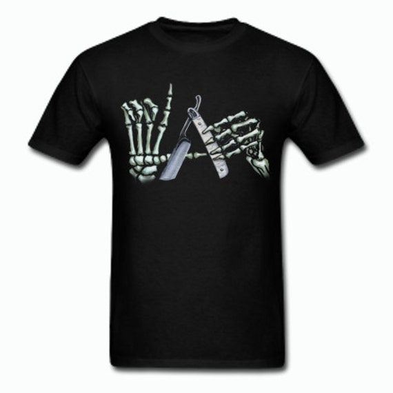 Los Angeles Skeleton Hands T Shirt