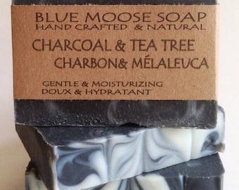 Charcoal & Tea Tree Soap