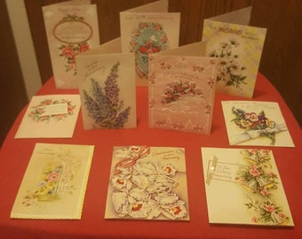Lot# 0101 1950's & 1960's Anniversary Cards