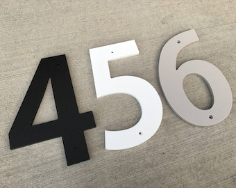 3 inch Bold House Numbers Letters