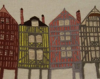 Traditional embroidery kit - Troyes