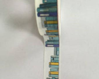 Washi tape with library books - Washi tape library book
