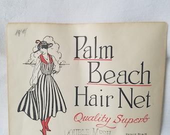 Vintage Palm Beach Hair Net