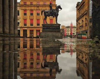 Queen Street, by GoMA, Glasgow.