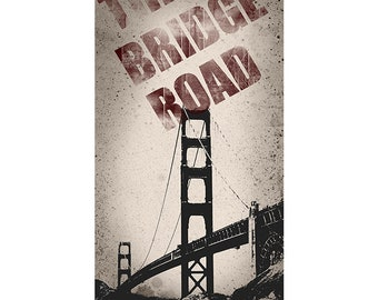 San Francisco, Colorful WallArt, DigitalArt, Printable Poster, Digital Download, Printable Photography, Printable Art,  Photographic Collage
