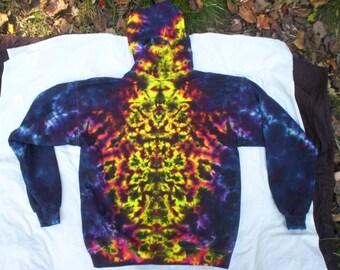 Warming Embers Zip Hoodie Tie Dye - Sizes S - 3X