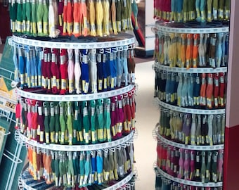 10 Sullivan's Embroidery Thread Floss Skeins for 1 Money, Egyptian Cotton, MOST Colors, Needlework Crafts, Hand Crafts