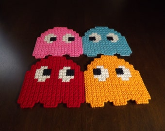 Pac-Man Ghosts Coaster Set