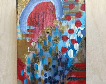 STUDIO SALE abstract mini painting