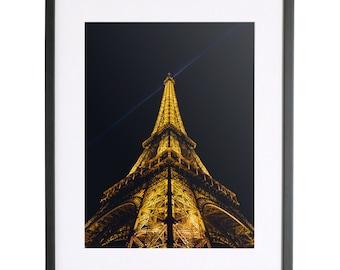 The Heights x Michael Wilson Eiffel Tower Print