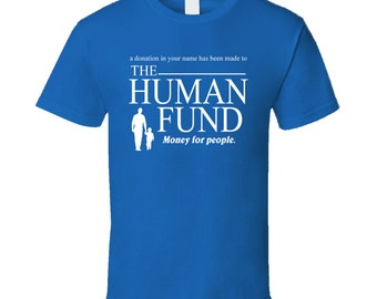 Seinfeld The Human Fund Funny T Shirt