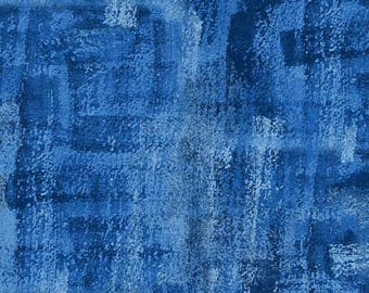 Brushline Water Blue Kim Schaefer Andover Fabric 1 yard
