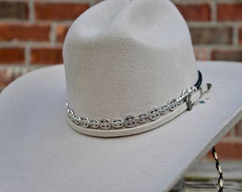 Silver Traditional Hat Band