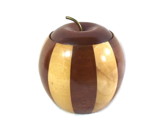 Wooden Apple Pot Made by Lancraft