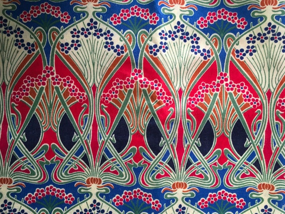 Tana lawn fabric from Liberty of London, Ianthe