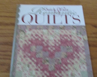 Quick and easy romantic quilts book