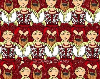 Kroatische Folklore Tänzer - Damen