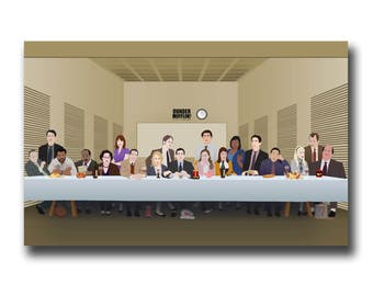 "Last Supper ""The Office"" Art Print"