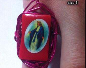 Virgin Mary Ring