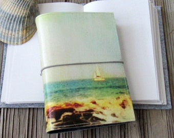 Sail Away Journal - sailing, ocean,  beach vacation travel journal by tremundo