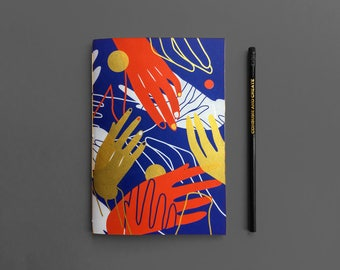 Idle Hands Sketchbook (Blue)