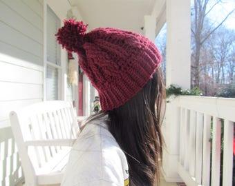 Cable Stitch Hat